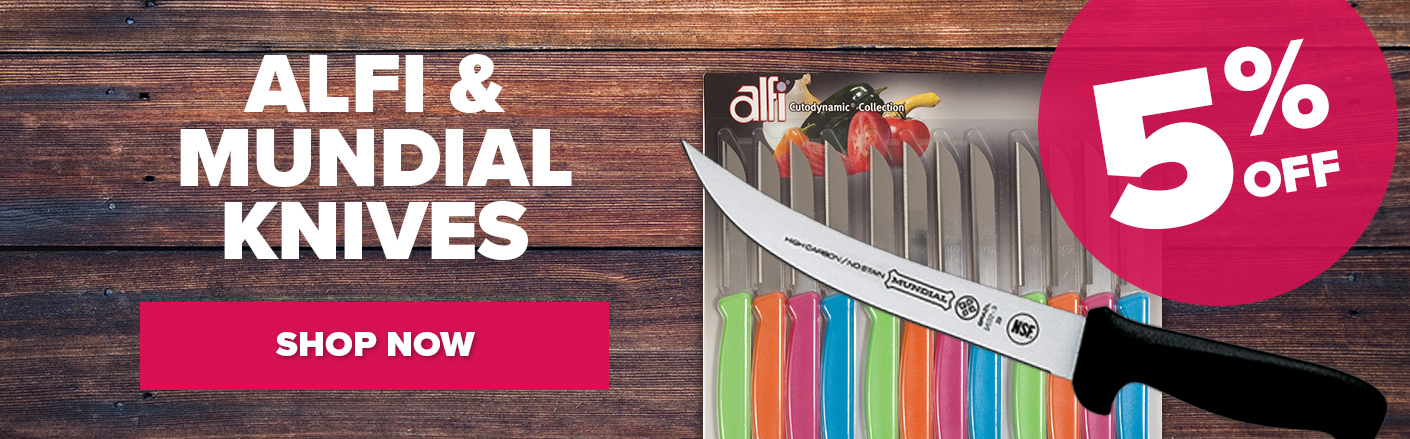 Alfi and Mundial Knives