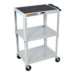 3-Shelf Rolling Carts | Utility Carts | Office Supplies | Public Kitchen Supply
