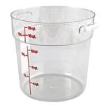 Cambro - 18 Qt Round Storage Container w/Handle | Public Kitchen Supply