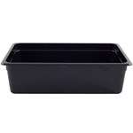 "Cambro - ABS, Full 1/1 Size x 6"" Deep Food Pan Black Cold 