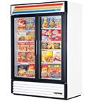 "True - 78"" Glass Door Freezer (2 Sec) 