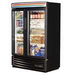 "True - 58"" Radius Front Swing Door Refrigerator (2 Sec)