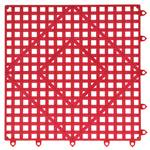 San Jamar - Red Versa-Mat | Public Kitchen Supply