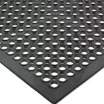 San Jamar - EZ-Mat Non-Slip (Black) | Public Kitchen Supply