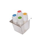 Fundamental Designs - 4-Hole FIFO Organizer | Public Kitchen Supply