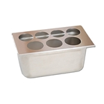 Fundamental Designs - 7-Hole FIFO Organizer | Public Kitchen Supply