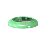Fundamental Designs - 1/3 oz FIFO Portion Pal Ring (Green) | Public Kitchen Supply