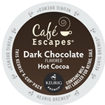 Cafe Escapes - Dark Chocolate Hot Cocoa K-Cups | Public Kitchen Supply