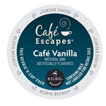 Cafe Escapes - Café Vanilla K-Cups (96 ct) | Public Kitchen Supply