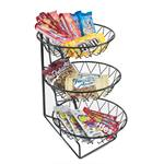 Cal-Mil - 2-Tier Square Wire Merchandiser | Public Kitchen Supply