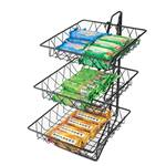 Cal-Mil - 3-Tier Square Wire Merchandiser | Public Kitchen Supply