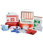 Certified Safety Mfg - Bloodborne Pathogen Deluxe Kit (10PW)
