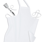 "Iron Guard - Bib Apron 32"" L x 28"" W, No pocket  