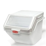 Rubbermaid - 200 Cup Ingredient Bin (Wht) | Public Kitchen Supply
