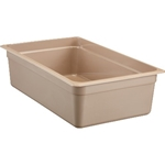 "Cambro - Full 1/1 Size x 6"" Deep Food Pan Amber Hot 