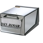 San Jamar - Chrome Countertop Napkin Dispenser | Public Kitchen Supply