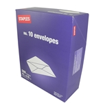 #10 Standard Envelopes (500ct) | Public Kitchen Supply