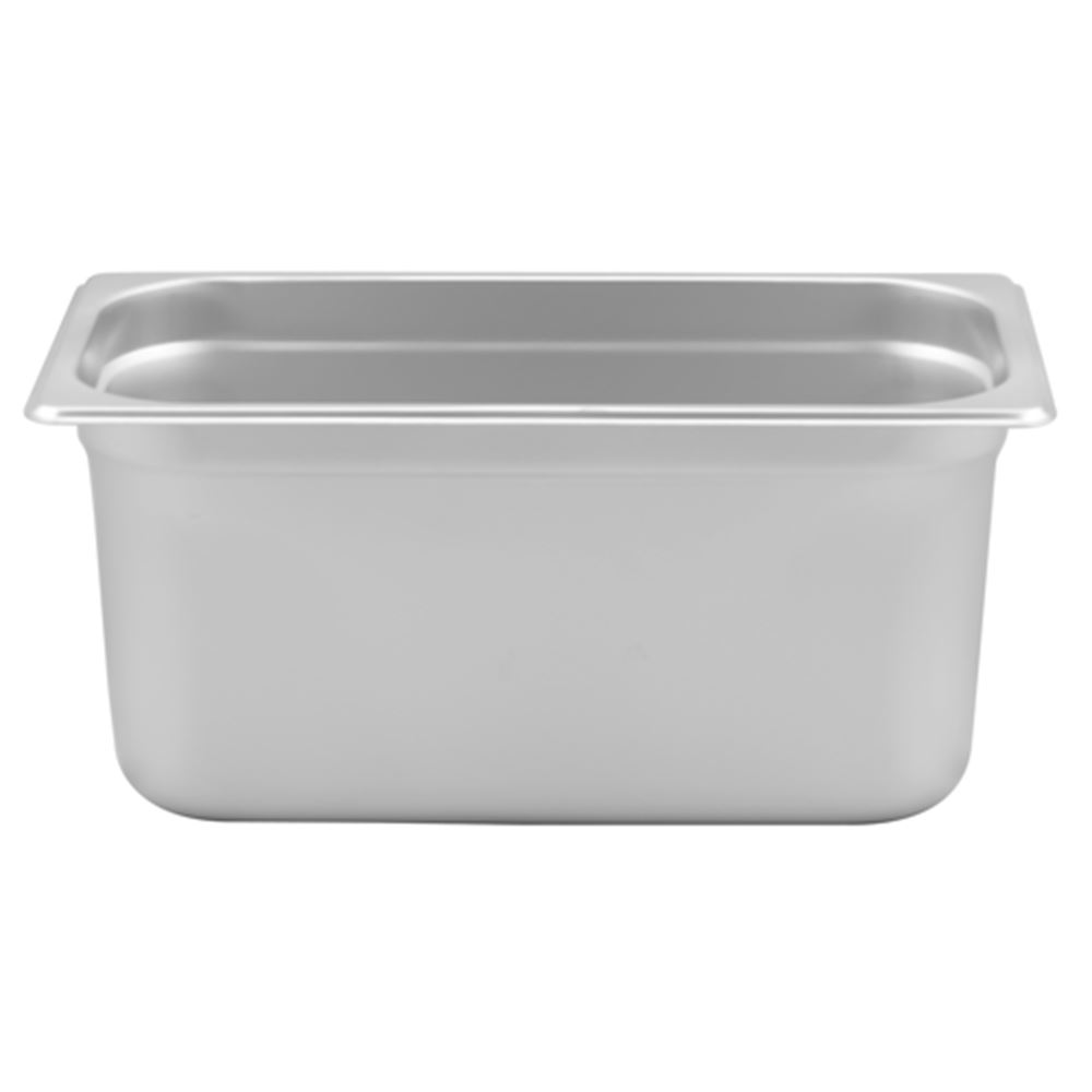 "Browne - 1/3 Size x 6"" Stainless Steam Table Pan"