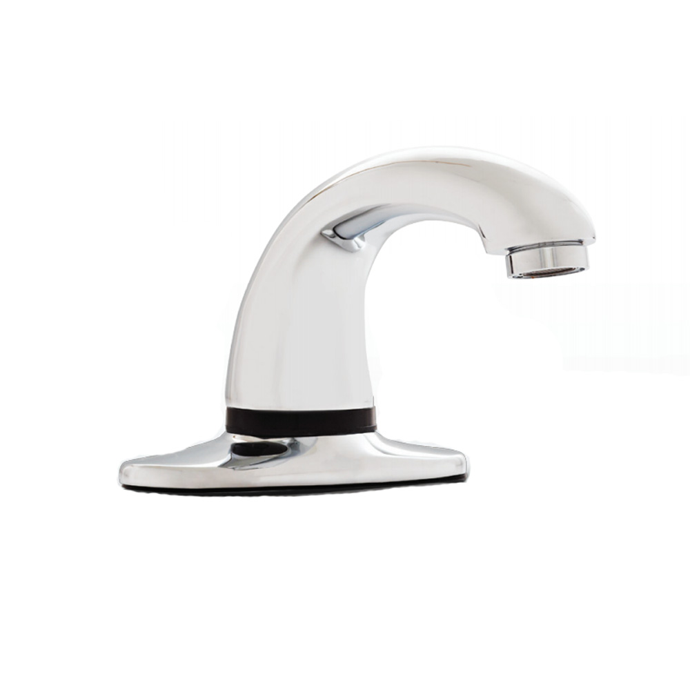 "Rubbermaid - Milano Auto Faucet W/8"" Plate"