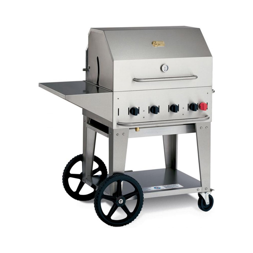 Gas Grill Accessories ~ Crown verity quot outdoor natural gas grill w accessories
