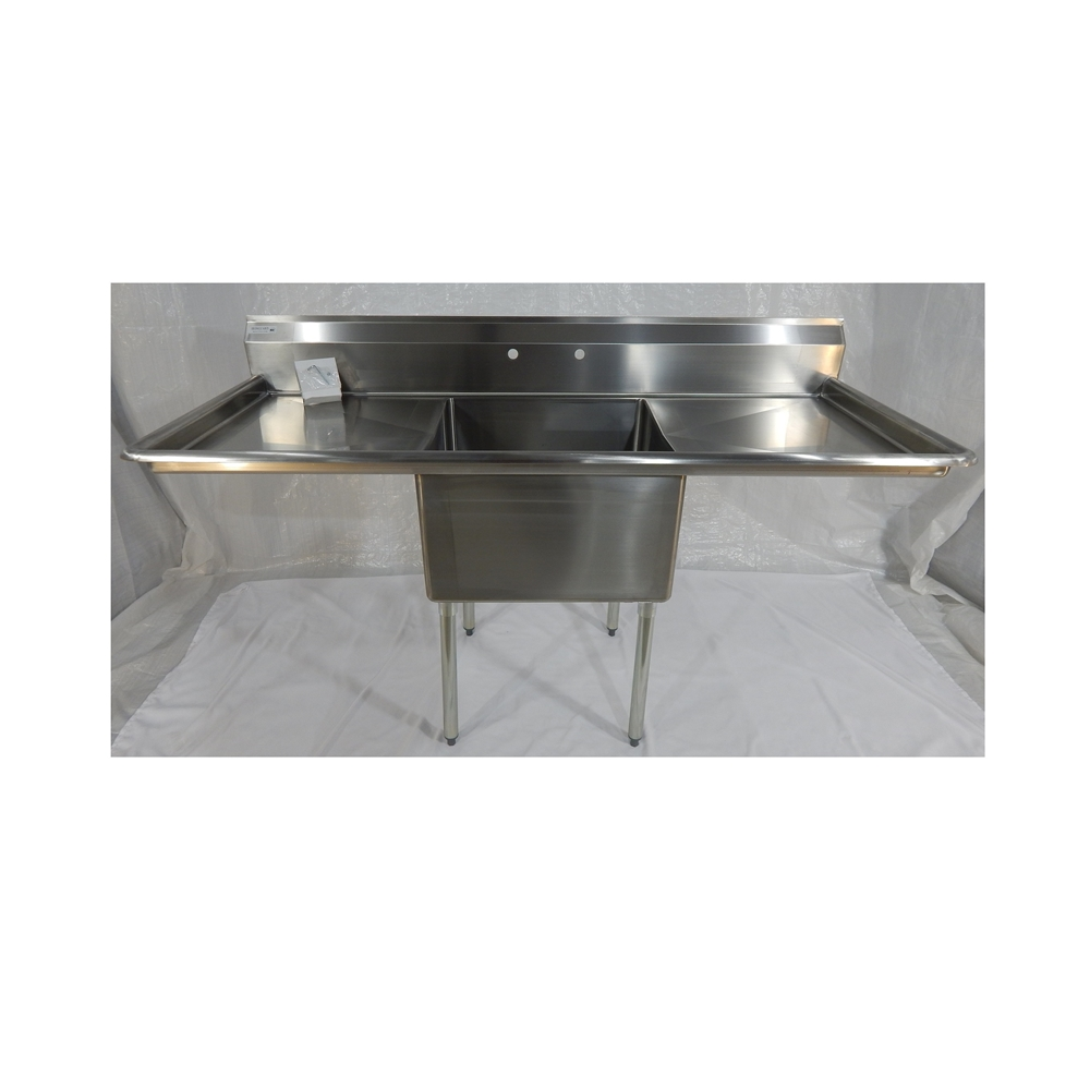 "Iron Guard-Sink 1 Comp 24 X 24 X 14 with 24""RLDB 304 Top Galv Legs"
