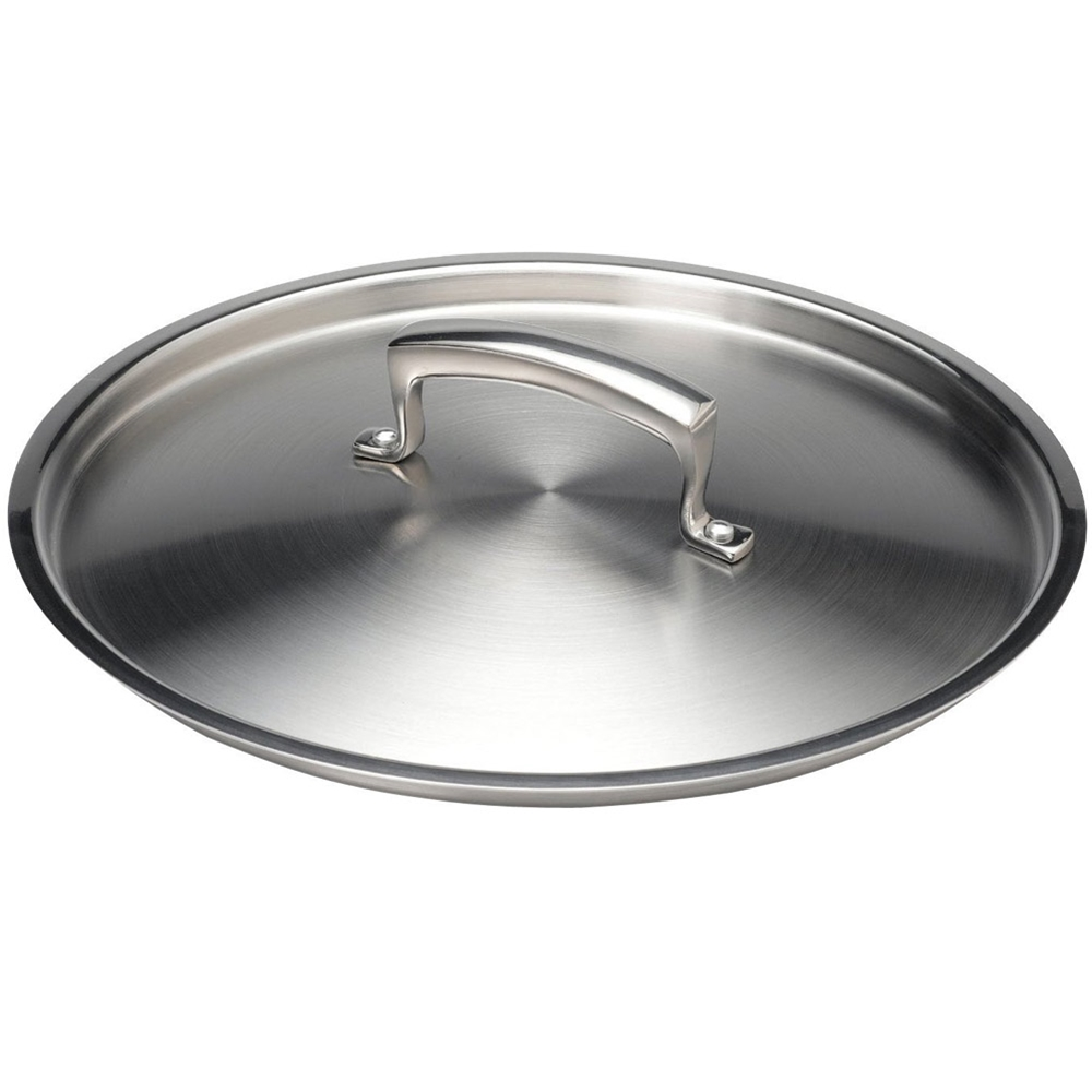 "Browne - 10.25"" Stainless Stock Pot Cover 