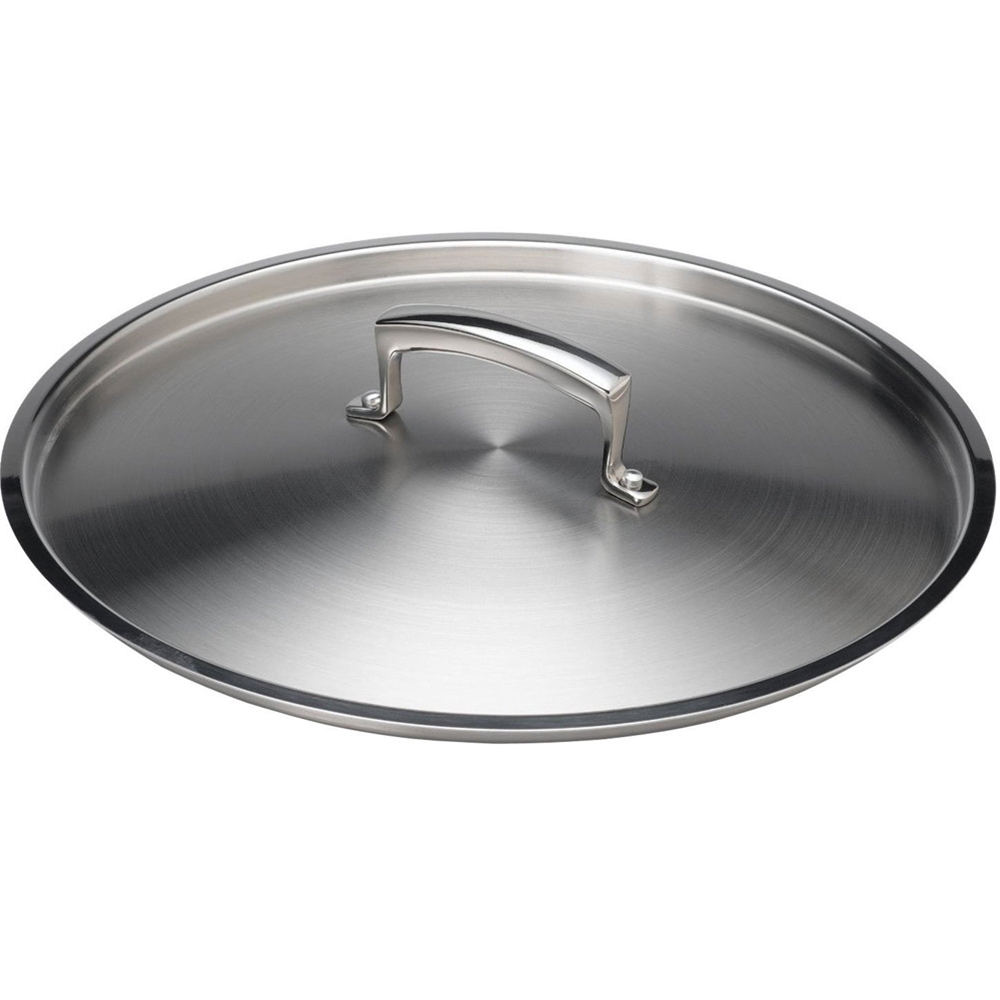 "Browne - 11"" Stainless Stock Pot Cover 