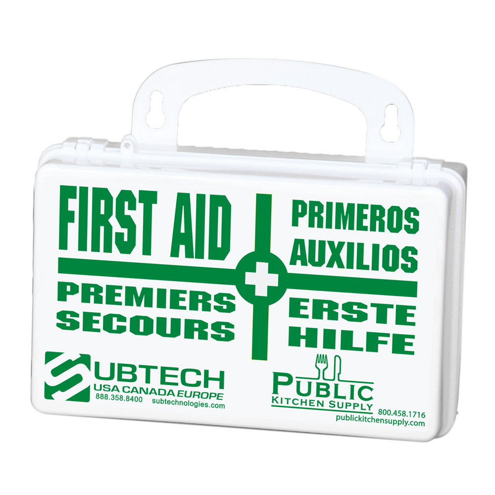 Pks economy first aid kit public kitchen supply for First aid kits for restaurant kitchens