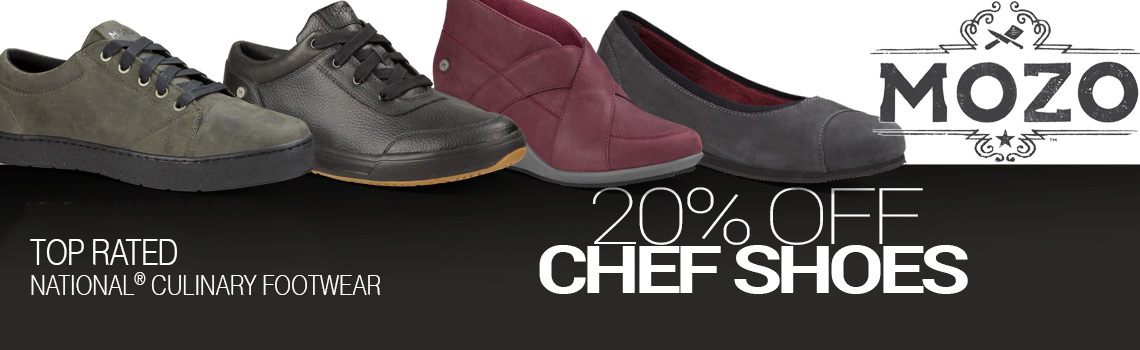 Sale on Mozo Chef Shoes