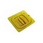 Microwavable Amber Lid | Restaurant Supplier | Public Kitchen Supply