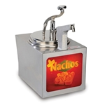 Gold Medal-WARMER, NACHO CHEESE W/ PUMP, LIGHTED (2197NS)Public Kitchen Supply