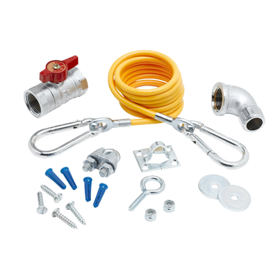 T&S -GAS KIT FOR APPLIANCES (AG-KD) | Public Kitchen Supply