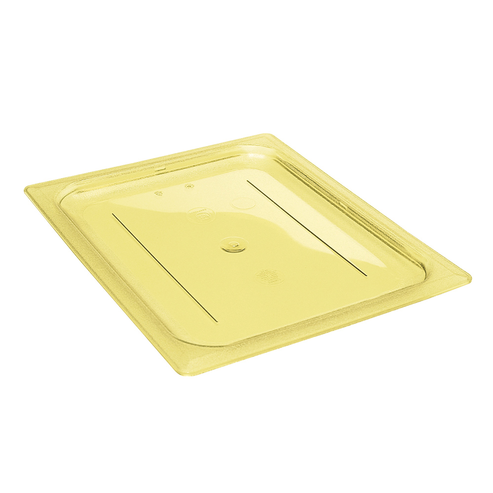 Cambro - Full Size Amber Food Pan Cover with Handle | Public Kitchen Supply