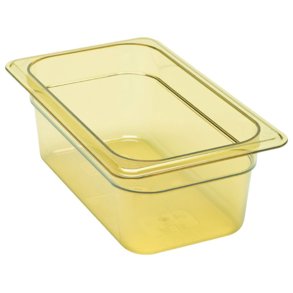 "Cambro - 1/4 Size x 4"""" Deep Food Pan  