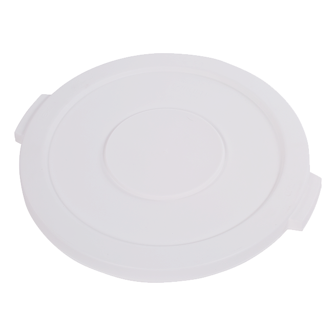 "Carlisle- Bronco™ Waste Container Lid, round, 1-1/4""H x 20"" dia. White (34102102)"