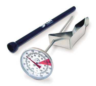 "CDN - ProAccurate 7"""" Stem Beverage & Frothing Thermometer 