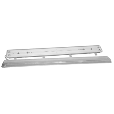 "Component Hardware- Keil® LED Luminaire, for walk-in cooler/freezer, surface/suspended mount, 48"" W, 7500 lumens, (LED48X754-CL-N)"