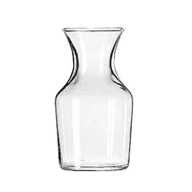 Libbey- Carafe, 4-1/8 oz. rim full (3 oz. to the neck), glass 72/Case (718)