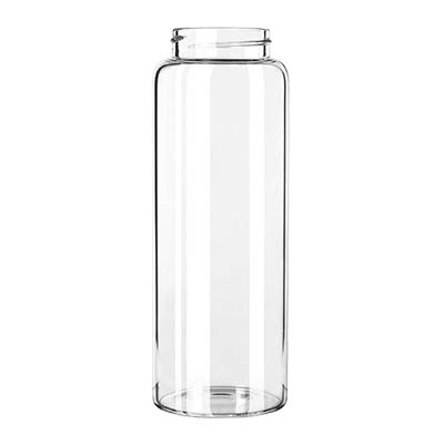 Libbey- Bottle, 33 oz. (998 ml) capacity, wide mouth, dishwasher safe, 12/Case (92170)