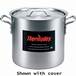 Browne - 12 Qt Aluminum Stock Pot | Public Kitchen Supply