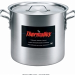 Browne - 16 Qt Aluminum Stock Pot | Public Kitchen Supply