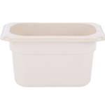 "Cambro - 1/9 Size x 4"" Deep High-Heat Food Pan  
