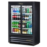 "True - 54"" Glass Display Refrigerator (2 Sec) 