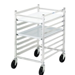 "Channel Mfg - Bun Pan Rack, Half Height, 36""H, 3"" spacing, capacity (9) 18"" x 26"" pans
