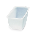 San Jamar - Pint Size Gourmet Garnish Tray Insert | Public Kitchen Supply
