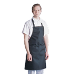 "Chef Revival - ""The Majesty"" Bib Apron (Black) 