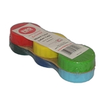 Fundamental Designs - Multicolored FIFO Label Cap Pack (6ct) | Public Kitchen Supply