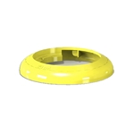 Fundamental Designs - 2/3 oz FIFO Portion Pal Ring (Yellow) | Public Kitchen Supply