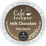 Cafe Escapes - Milk Chocolate Hot Cocoa K-Cups | Public Kitchen Supply