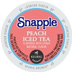 Snapple - Peach Iced Tea K-Cups | Public Kitchen Supply